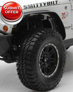 Smittybilt 76837 Xrc Fenders Flares Set Of 4 For 2007 2018 Jeep Wrangler Jk