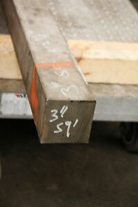 304 Stainless Steel Square Bar 3 X 3 X 6 Surplus Material F