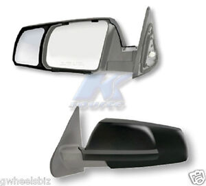 2007 2008 2018 Toyota Tundra Sequoia Clip Snap on Towing Side Mirror Extension