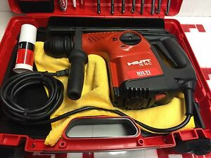 Hilti Te 16 c Hammer Drill Excellent Condition Free Extras Fast Shipping