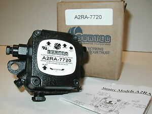 Suntec A2ra 7720 Transfer Waste Oil Burner Supply Pump New One Year Warranty