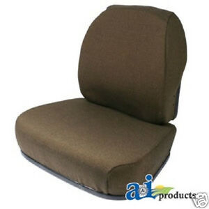 Brown Fabric Seat Cushion Set John Deere 9100 9200 9300 9400 4wd Tractors gz