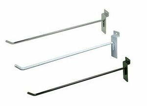 Slatwall Hooks Cases Of 100 Multiple Colors And Sizes