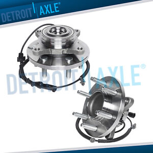 2 Front Wheel Bearing Hub Assembly For 2009 2010 Ford F 150 2wd W Abs 6lug