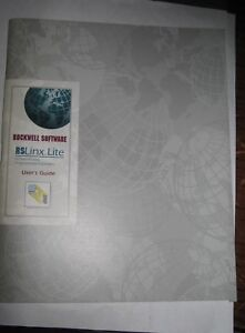 Rockwell Software 9399 wab32lug Rslinx lite User s Guide Used