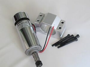 400w Dc 12 48 Cnc Spindle Motor Mount Bracket 24v 36v For Engraving Carving New