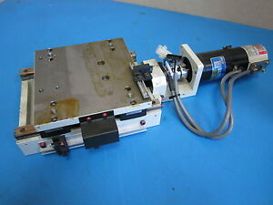 Thk A05p4be 6 25 X 5 75 Linear Actuator Table With Servo Motor R511 012el7