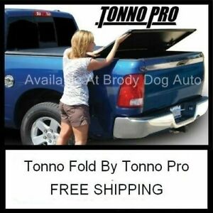 2001 03 Ford F150 Crew Short 5 5ft Tri fold Tonneau Bed Cover Tonno Pro 42 310
