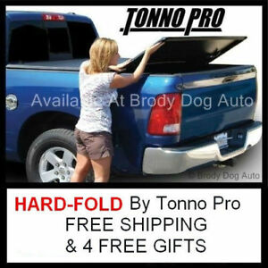 2014 2018 Chevy Silverado 5 8ft Tri Hard Fold Tonneau Bed Cover Tonno Pro Hf 159