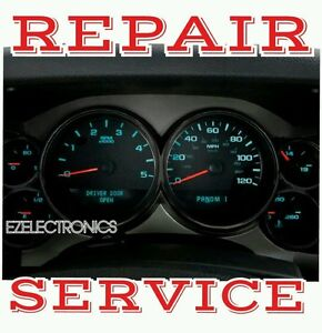 2007 To 2014 Chevrolet Trailblazer Instrument Cluster Repair Service