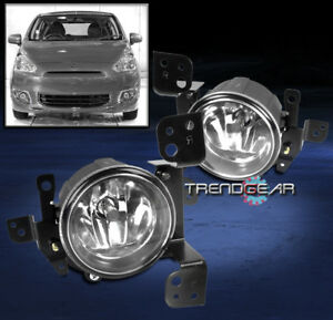 2014 2015 Mitsubishi Mirage De Es Se Bumper Chrome Fog Light Lamp W Bulb Harness