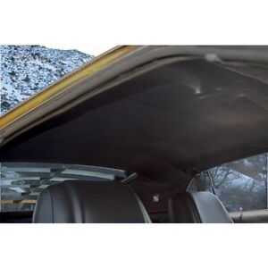 Mustang Headliner Moonskin Grain Fastback 1969 1970 Black Tmi