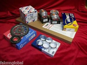 Chevy 350 K Engine Kit Bearings Timing Gaskets Rings Op Head Bolts 1987 94
