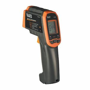 Klein Tools Ir2000a 12 1 Dual Laser Infrared Thermometer W Case New