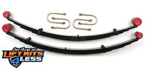 Zone 3 Rear Leaf Springs Lift Kit W chrysler 8 25 For 1984 01 Jeep Cherokee Xj