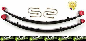 1984 2001 Jeep Cherokee Xj Zone 3 Rear Lift Leaf Springs Kit For Dana 35