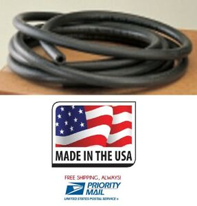 3 16 X 25 Premium Fuel Gas Line Hose R7 Hi Temp Priority Shipping Made In Usa
