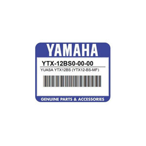 Yamaha Replacement Battery For Ef3000ise iseb Generator Ytx 12bs0 00 00