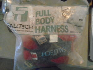 Falltech 7008 Full Body Harness 1 Lot Of 2 Used See Photos For Details