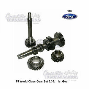 T5 World Class Gear Set 3 35 1st Ford Mustang New 5 Speed Transmission Wc