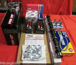 Chevy 305 5 0l Master Engine Kit Cam Pistons Gaskets Head Bolts 1976 77 78 79 80