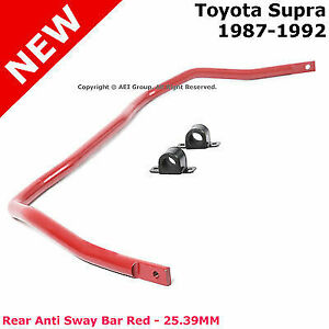 For Toyota Supra 87 92 Rear Anti Sway Bar Stabilizer 25 39mm Solid Steel Alloy