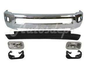 Front Chr Bumper Valance Fog Light Bracket For Dodge Ram 2500 3500 4wd 2010 2012
