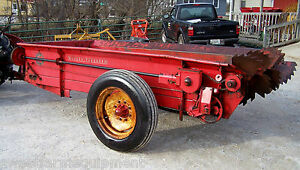 Nice Mf 110 Manure Spreader Pto Drive Can Ship 1 85 Loaded Mile