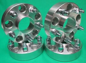 4 Dodge Ram 1500 1 25 Hub Centric Wheel Adapters Spacers Fit 2002 To 2011