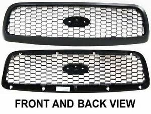 98 2011 Ford Crown Victoria P71 Police Car Front Honey Comb Grille Black New