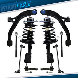 2 Front Struts 8pc Suspension Kit Chrysler Town Country Dodge Town Country
