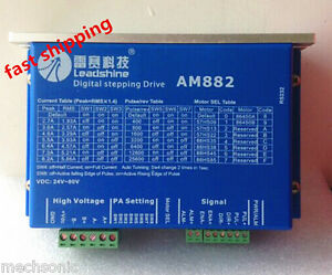 Leadshine Am882 Digital Stepper Motor Drive 80vdc 0 1a 8 2a Protect Function S