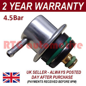 4 5 Bar Universal Fuel Pressure Regulator Replacement Upgrade Car Motorbike