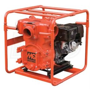 Multiquip Qp4th Trash Pump 4 Suction 555 Gpm 92 Honda Gx340
