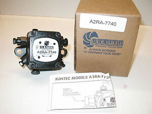 Suntec A2ra 7740 Waste Oil Burner Supply Pump One Year Warranty New