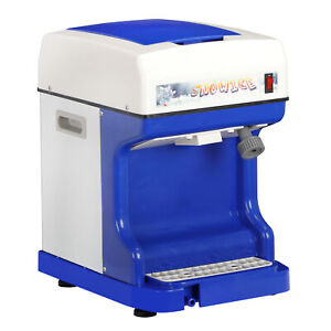 Professional Ice Shaver 250w Electric Snow Cone Crusher Maker Machine 264lbs h