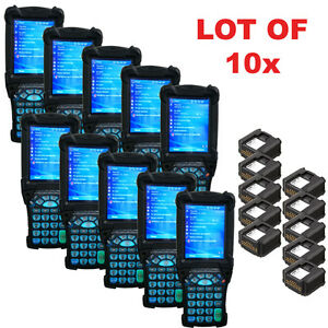 Lot 10x Symbol Motorola Mc9090 Wireless 1d Laser Barcode Scanner Windows 5 0 6 1