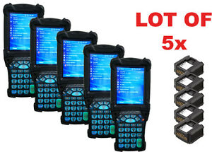 Lot 5x Symbol Motorola Mc9090 Wireless Laser 1d Barcode Scanner Reader Bluetooth