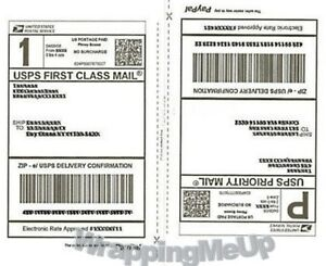 50 shipping Labels 25 Sheets 2 Labels Per 8 5x11 Page Premium Shipping Labels