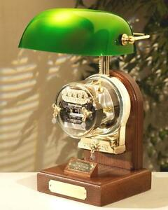 Operating Electric Watthour Meter Lamp Ob ba Deluxe Edition