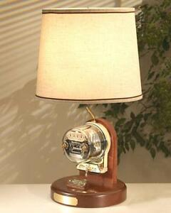 Operating Electric Watthour Meter Lamp Ob sh Deluxe Edition