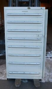 Nu era Tool Cabinet 8 Drawer W 19 Dividers Nice Condition