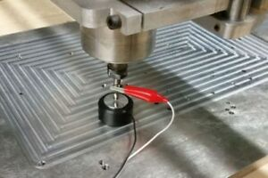 Cnc Z axis Tool Setting Touch Plate Probe Mach3 Router Mill