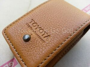 Toyota Land Cruiser 200 Brown Leather Smart Key Case Cover New Genuine Oem Parts