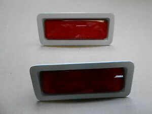 Mopar 69 Roadrunner Charger Barracuda Gtx Coronet Red Side Marker Assemblies new