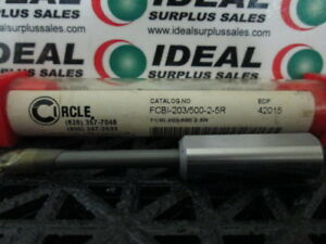 Circle Machine Fcbi20350025r Boring Bar New In Box