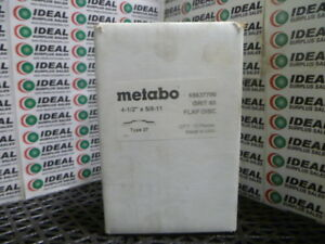 Metabo 65637700 Disc New In Box
