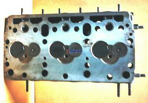 Fiat Cylinder Head Remachined 8210 8215 4837604 loaded 3 Cyl Diesel
