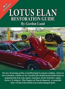 Lotus Elan Restoration Guide This Is The Newer Updated Color Edition