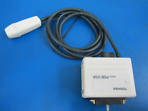 Toshiba Ultrasound Transducer Probe Model Psb 25r 2 5 Mhz